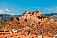 Old castle of Cardona in Spain