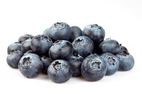 Fresh blueberry in closeup