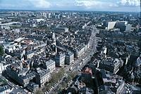 Aerial view of Nantes - Pays de la Loire, France