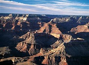 USA, Arizona, Grand Canyon National Park, UNESCO World Heritage List, 1979. South Rim of Grand Canyon, Mother Point, Sunrise