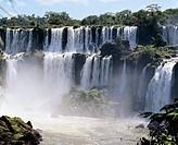 Brazil - Paraná State. Iguaçu National Park. UNESCO World Heritage List, 1986. Iguaçu Falls
