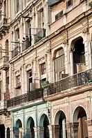 Paseo de Marti Prado, Havana, Cuba, West Indies, Central America