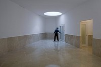 LÉRIDA UNIVERSITY ALVARO SIZA LERIDA 2008 INTERIOR VIEW OF SCIENCE BUILDING CORRIDOR, LERIDAUNIVERSITY, Architect2008