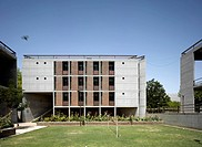 INDIAN INSTITUTE OF MANAGEMENT HCP ARCHITECTS AHMEDABAD INDIA_ ACCOMMODATION BLOCK, AHMEDABAD, CAMPUS, Architect2009