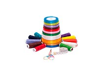 Colorful sewing kit