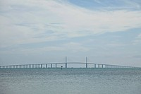 Sunshine Skyway Bridge, Tampa, Florida, USA