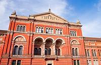 Victoria and Albert Museum in Kensington, London