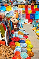 earthenware in the market, Djerba, Tunisia