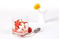 Erdbeermandeln