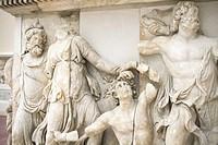 Nereus, Doris, a giant, Oceanus