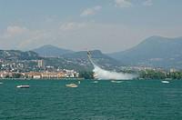 Flugshow in Lugano