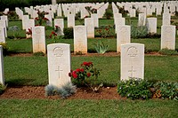 Commonwealth soldiers memorial cemetery Souda Crete