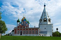 Russian churches in Kolomna, Russia, Eurasia