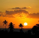 sunset, Varadero, Cuba