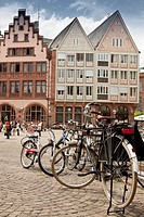 Houses, Frankfurt am Main, Hesse, Germany, Europe