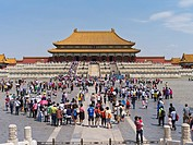 The Forbidden City was the Chinese imperial palace from the Ming Dynasty to the end of the Qing Dynasty  It is located in the middle of Beijing, China...