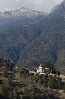 Tawang Khinmey Nyingma Monastery near Tawang, Arunachal Pradesh, India, Himalayas, Asia