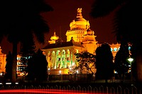 Vishana Soudha in Bangalore is the Karnataka state legislature building