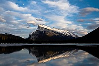 Mount Rundle in Banff National Park, Alberta, Canada.