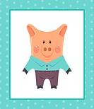 Funny piggy