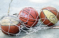 BALLS OF BASKETBALL