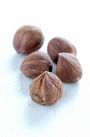 Five hazelnuts