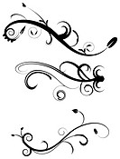 Decorative Flourishes Set 2 EPS 8