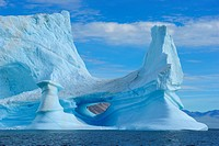 Arctic Iceberg in Summer, Nanortalik, Kejser Franz Joseph Fjord, Greenland