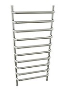 Bathroom towel rail. 3D rendered image.