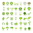 special green icons collection 1a