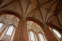 cathedral st. marien in luebeck / germany