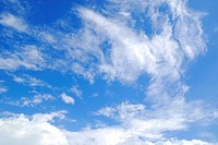 The Blue Sky and Clouds wallpaper background