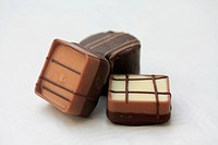 Luxury Belgium chocolates, pure, white and milk