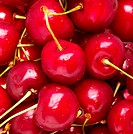 Close_up view of cherries