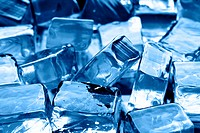 Ice cubes, may be used as background