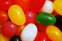 Close_Up Of Jelly Beans.