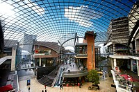 England, Bristol, Bristol. Cabot Circus, a state of the art shopping and leisure centre opened in 2008.