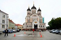 Alexander Nevsky Cathedral, Tallinn, Estonia, Baltic states, Europe