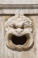 Gargoyle, Bavarian National Museum in Prinzregentenstrasse in the historic district of Altstadt-Lehel, Munich, Bavaria, Germany, Europe