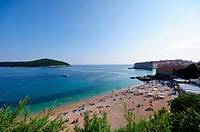 Banje Beach and Old Town of Dubrovnik, The World Heritage Site