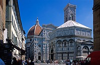 San Giovanni Baptistery, Cathedral, Florence, Unesco World Heritage Site, Tuscany, Italy, Europe