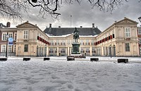 Palace Noordeinde of Queen Beatrix of The Netherlands in The Hague