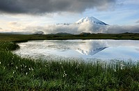 Tolbachik volcano on Kamchatka