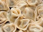 Pelmeni meat dumpling food steamed for dinner meal