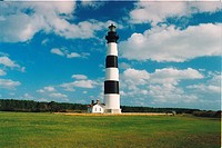 lighthouse located at Bodie Island, North Carolina, United States