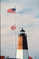 lighthouse located at Point Judith, Rhode Island, United States