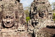 Faces of Bayon, Angkor Wat, Cambodia