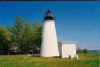 lighthouse located at Turkey Point , Maryland, United States