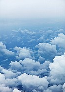 Vertical background _ photo of clouds from aerial