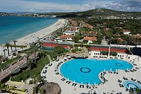 Sheraton Cesme Hotel, complex with pool, Cesme, Ilica, Turkey, Asia